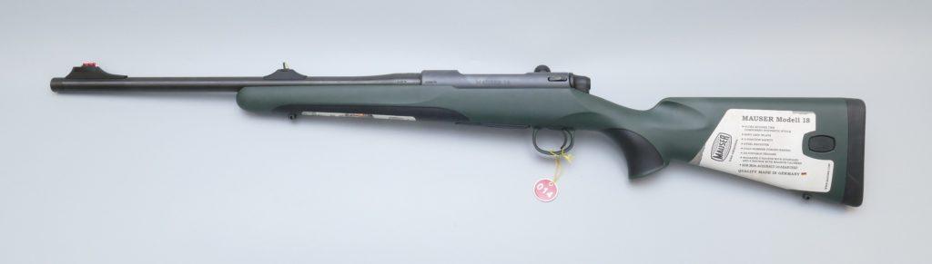 014 Mauser M18 Waldjagd, Kal. 8x57IS, off. Visierung, Mündungsgewinde, 3 Stellungssicherung Preis 1343,-€